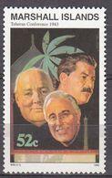 Marshall Islands 1993 WO II Teheran Conference 1943  Michel 496 MNH 28062 - Marshall
