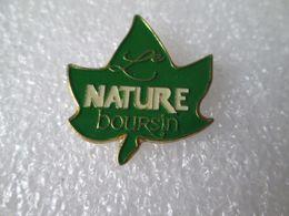 PIN'S    BOURSIN  LE NATURE - Alimentation