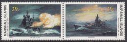Marshall Islands 1993 WO II Battle Of North Cape 1943  Michel 497-98  MNH 28063 - Marshall