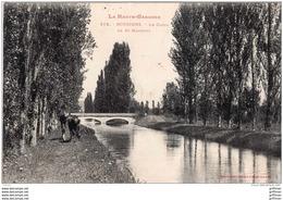 BOUSSENS LE CANAL DE SAINT MARTORY 1909 TBE - Francia