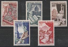Timbres France Série Métiers D'art Yvert 970/9740 De 1954 Neufs ** Cote 43 € - France