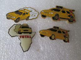 PIN'S    CITROEN  LOT  4  ZX  RALLYE  RAID - Citroën