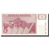 Billet, Slovénie, 5 (Tolarjev), 1982, 1982-12-30, KM:3a, NEUF - Slovénie