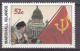 Marshall Islands 1994 WO II Siege Of Leningrad Lifted 1944  Michel 501  MNH 28066 - Marshall