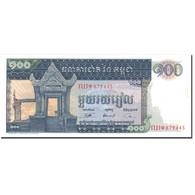 Billet, Cambodge, 100 Riels, Undated (1963-72), KM:12b, SUP+ - Cambodge