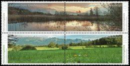 LIECHTENSTEIN Réserves Naturelles 4v 2015  Neuf ** MNH - Liechtenstein