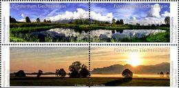 LIECHTENSTEIN Réserves Naturelles 4v 2016  Neuf ** MNH - Liechtenstein