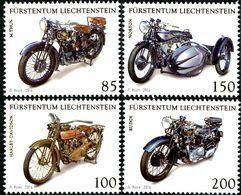 LIECHTENSTEIN Motos De Collection 4v 2016 Neuf ** MNH - Liechtenstein