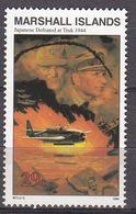 Marshall Islands 1994 WO II Japanese Defeated At Truk 1944  Michel 503  MNH 28068 - Marshall
