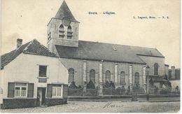 EVERE : L'Eglise - Cachet De La Poste 1907 - Evere