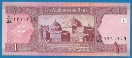 AFGHANISTAN  1 Afghani  SH 1381 (2002)  P# 64  Da Afghanistan Bank - Afghanistan