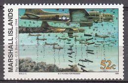 Marshall Islands 1994 WO II Big Week -U.S.Bombs Germany 1944  Michel 508  MNH 28069 - Marshall