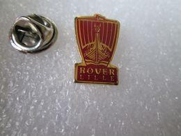 PIN'S    LOGO   ROVER  LILLE - Pin's & Anstecknadeln