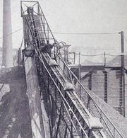 Élévateur Pour La Mise En Tas De Coke - Charbonnage - Elevator To Pile Up Coal - Mine Work - Mineral
