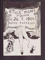 1 ° BOURSE A ATHIS MONS 1986 - Bourses & Salons De Collections