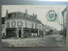 CHARS                LE ROND POINT RUE DE GISORS - Chars