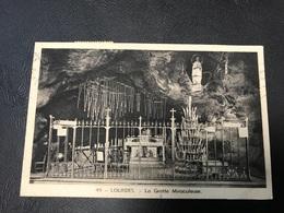 49 - LOURDES La Grotte Miraculeuse - 1947 Timbrée - Lourdes
