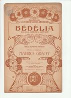 PARTITION BEDELIA Paroles De EUGENE HEROS Musique MAURICE GRACEY En 1903 - Noten & Partituren