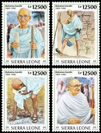 Sierra Leone. 2020 90th Anniversary Of The Salt March. Mahatma Gandhi. (0220c) OFFICIAL ISSUE - Mahatma Gandhi