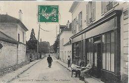 95, Val D'Oise, MARGENCY, Rue D'Eaubonne, Scan Recto Verso - Autres Communes