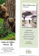 Lot De 2 Marque-pages. Lafon Et Paule. Scanss Recto Et Verso. - Lesezeichen