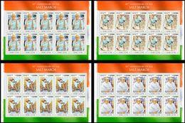 Sierra Leone. 2020 90th Anniversary Of The Salt March. Mahatma Gandhi. (0220d) OFFICIAL ISSUE - Mahatma Gandhi