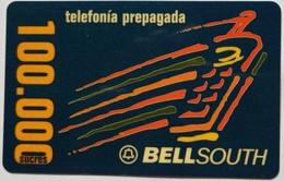 100,000 Sucres Bellsouth Remote - Equateur