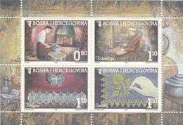 BOSNIA AND HERZEGOVINA Block 18,unused - Bosnia And Herzegovina