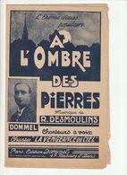 PARTITION A L'OMBRE DES PIERRES Musique R. DESMOULINS (6 Partitions) - Noten & Partituren