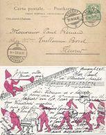 Zwerge Musizieren           1902 - Contes, Fables & Légendes