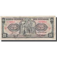 Billet, Équateur, 20 Sucres, 1988-11-22, KM:121Aa, TB - Ecuador