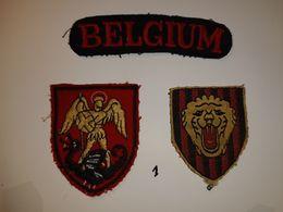 Insignes Armée Belge - Patches