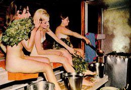 SEXY / ÉROTISME - PIN-UP / YOUNG NAKED  WOMAN In SAUNA : JEUNE FEMME NUE Dans SAUNA - SUOMI / FINLAND ~ 1970 (af030) - Nus Adultes (< 1960)