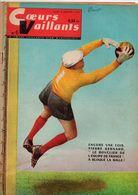 Coeurs Vaillants N°6 Usine Géante Volkswagen - Pierre Bernard Le Bouclier De L'équipe De France - Football Contre Rugby - Magazines Et Périodiques