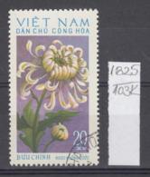 103K1825 / 1974 - Michel Nr. 765 Used ( O ) Chrysanthemum Chrysanthemen - Flowers Fleurs Blumen , North Vietnam Viet Nam - Vietnam