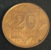 KAZAKHSTAN - 20 TYIN 1993 - KM 4a - Kasachstan