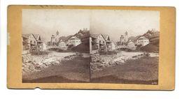 SUISSE COMMUNE DE ? LUIS LEVIS ? PHOTO STEREO CIRCA 1860 /FREE SHIPPING R - Fotos Estereoscópicas