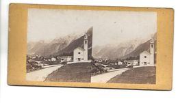 SUISSE BREGAGLIA PHOTO STEREO CIRCA 1860 /FREE SHIPPING R - Fotos Estereoscópicas