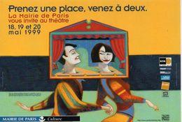 Théâtre Mairie De Paris Culture Spectacle Acteur Artiste - Théâtre