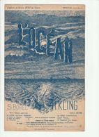 PARTITION L'OCEAN Poésie De S. BOREL Musique De H. KLING - Noten & Partituren
