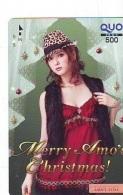 Carte Prépayée Japon * NOËL (2051) MERRY CHRISTMAS  Prepaid Card Japan Karte WEIHNACHTEN JAPAN * KERST NAVIDAD - Noel