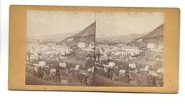SUISSE COMMUNE DE  COIRE  PHOTO STEREO CIRCA 1860 /FREE SHIPPING R - Fotos Estereoscópicas