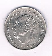 2  MARK 1970 F DUITSLAND /5211/ - [ 7] 1949-… : RFA - Rep. Fed. Alemana