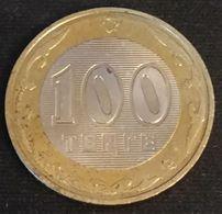 KAZAKHSTAN - 100 TENGE 2002 - KM 39 - Kazajstán