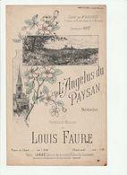 PARTITION L'ANGELUS DU PAYSAN De LOUIS FAURE - Spartiti