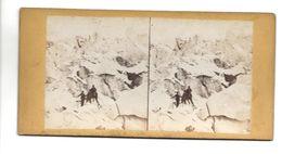 SUISSE GLACIER DE ROUGG ? PHOTO STEREO CIRCA 1860 /FREE SHIPPING R - Fotos Estereoscópicas