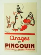 BUVARD CIRAGE DU PINGOUIN ENCAUSTIQUES ET PRODUITS D'ENTRETIEN WILLEMS 59660 - Chaussures