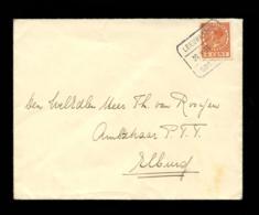NEDERLAND - Brief Van  Leeuwarden Naar Elburg. Treinstempel Leeuwarden 29 X 35 Groningen. - Brieven En Documenten