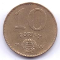 MAGYAR 1986: 10 Forint, KM 636 - Hungría