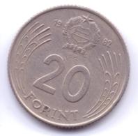 MAGYAR 1982: 20 Forint, KM 630 - Hungría